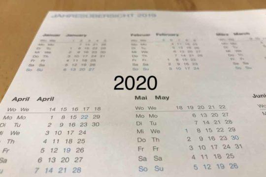 Święta i dni wolne od pracy 2020